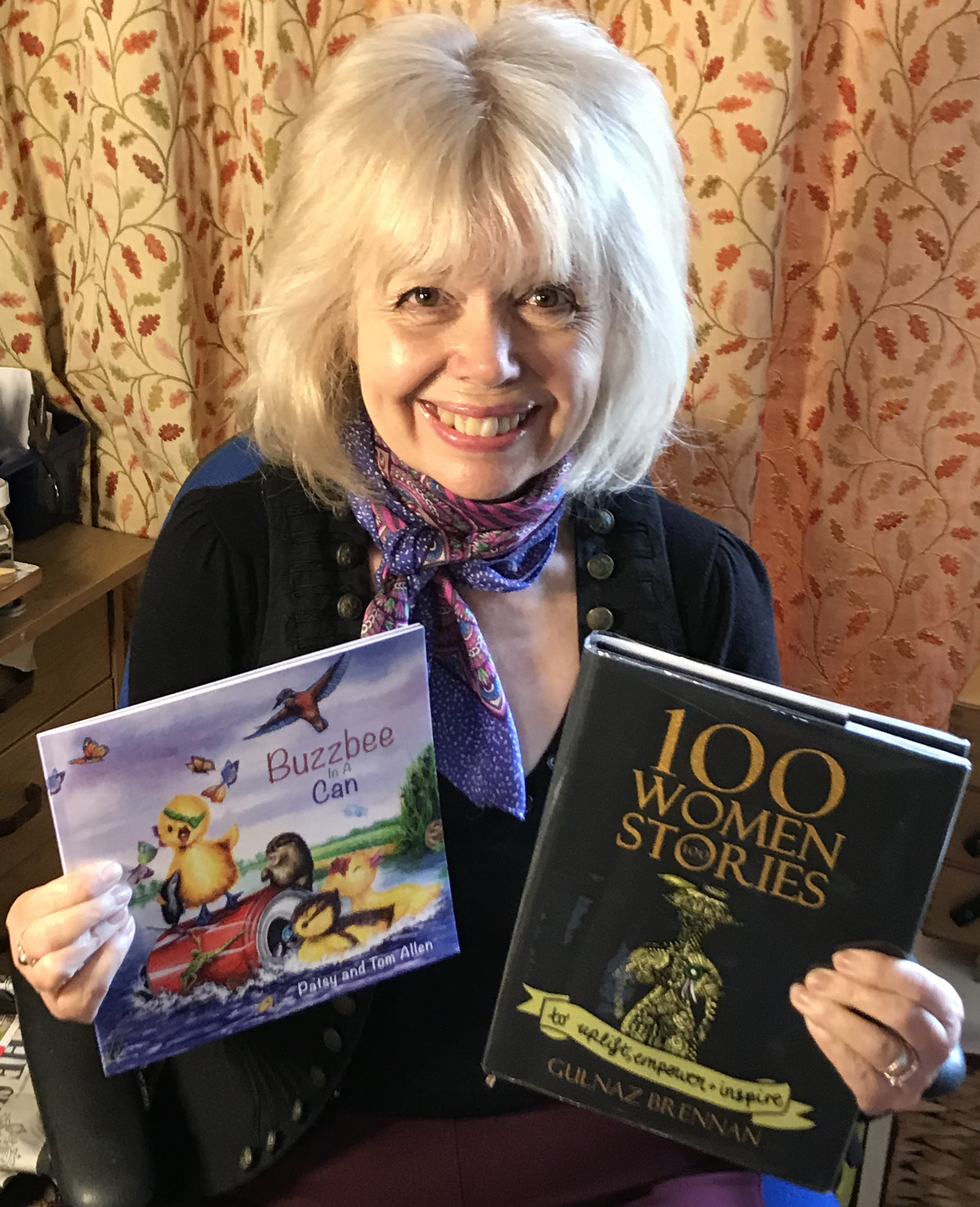 Patsy Allen With Books