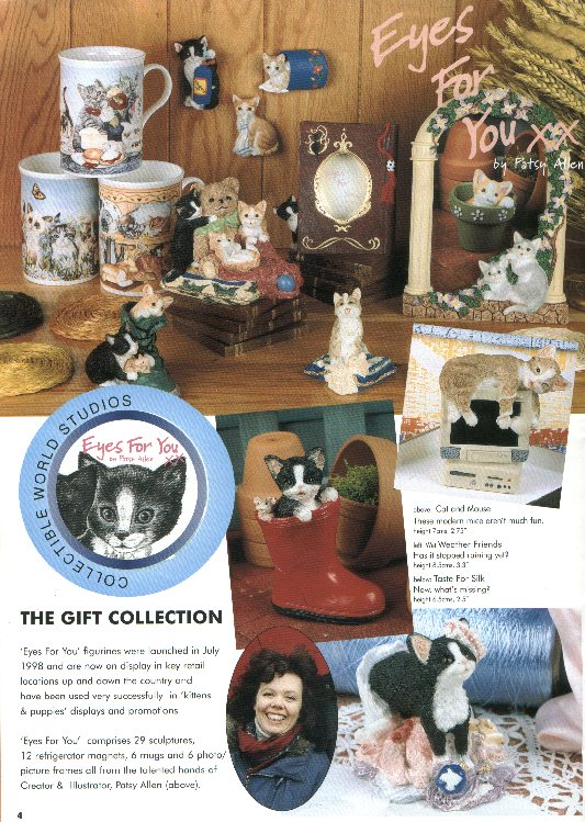 Collectible World Studios Cats